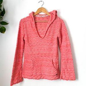 Roxy Knitted Long Sleeve Beach Hoodie